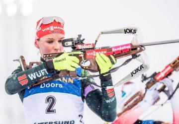 Dorothea Wierer gewinnt Massenstart Gold – Denise Herrmann holt dritte Medaille