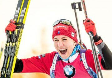 Anastasiya Kuzmina gelingt perfektes Rennen am Holmenkollen