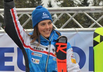 Vynikajúca Petra Vlhová sa rozlúčila so slalomovou sezónou umiestnením v top 3
