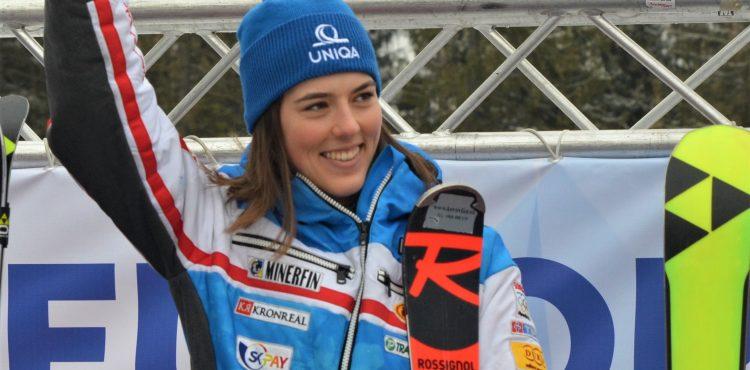 SP Courchevel: Petra Vlhová skončila v prvom obrovskom slalome v elitnej trojici