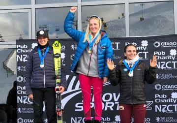 Barbara Kantorová zaznamenala striebro v slalome na majstrovstvách Nového Zélandu v Coronet Peaku