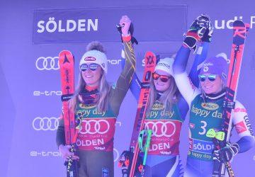 V obrovskom slalome v Söldene si 17-ročná Robinsonová pripísala premiérový triumf