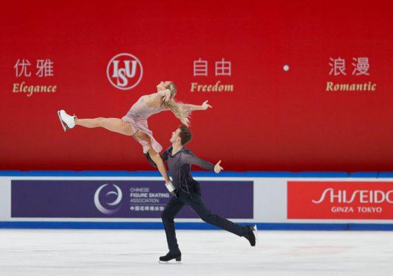 Krasokorčuľovanie Cup of China: Zlato si rozdelili domáci s reprezentantmi Ruska