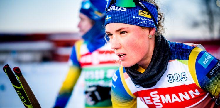 V otváracích mix štafetách dvojíc SP rozradostili östersundské tribúny domáci biatlonisti