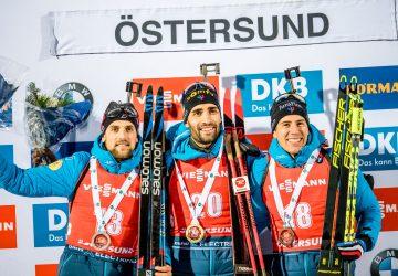 Französischer Dreifach erfolg beim Einzel von Östersund