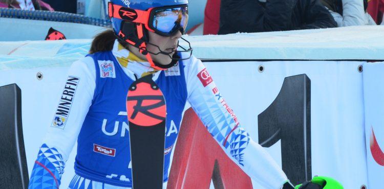 SP St. Anton: Petra Vlhová zanechala v druhom tréningu zjazdu pozitívny dojem