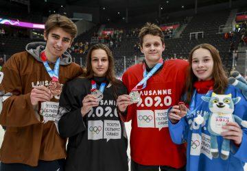 ZOHM Lausanne – hokej 3×3: Slovensko získalo dve strieborné a dve bronzové medaily