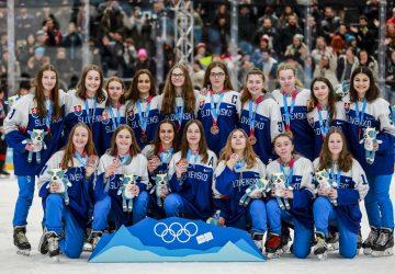 ZOHM Lausanne: Slovenské hokejistky získali historický olympijský bronz