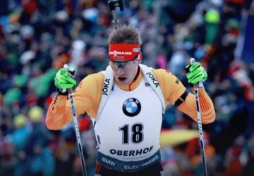 Johannes Kühn belegt Platz drei – Martin Fourcade aus Frankreich Siegt