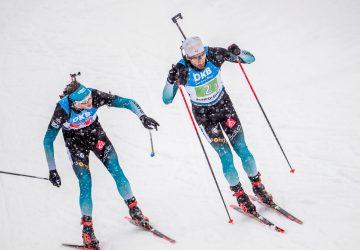 Frankreich gewinnt im Schneetreiben die Staffel von Ruhpolding