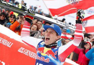 Zjazd v Kitzbüheli vyhral domáci pretekár Mayer