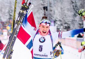 Skvelá Paulína Fialková druhá v stíhacích pretekoch SP v Ruhpoldingu