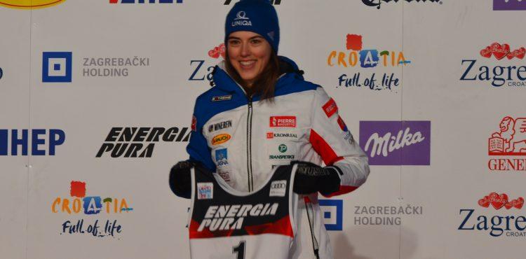 Startovní listina – slalom – ženy – SP Záhřeb 3. 1. 2021