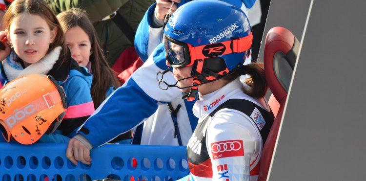 SP Semmering: Petra Vlhová vedie po prvom kole obrovského slalomu