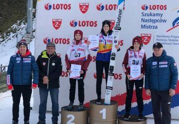 Skokanka na lyžiach Tamara Mesíková na juniorskom turnaji v Poľsku dvakrát na pódiu