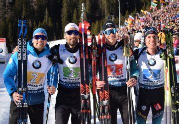 MS v biatlone 2020 v Anterselve: Francúzsko sa teší zo zisku zlata v mužskej štafete po dlhých rokoch
