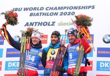 """MS Anterselva – individuál: Martin Fourcade získal rekordný štvrtýkrát v kariére zlato, Martin Otčenáš sa kvalifikoval do """"massu"""""""