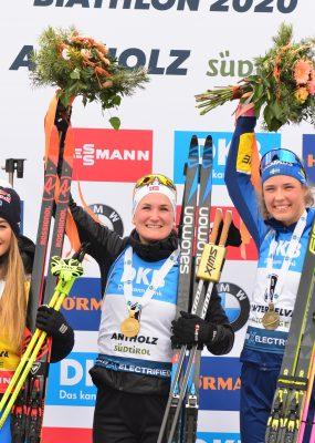 MS v biatlone 2020 v Anterselve: Nezastaviteľná Roiselandová si pripísala ďalšie zlato, Slovenky sklamal servis