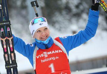 S kariérou sa rozlúčila biatlonová stálica Kaisa Mäkäräinenová