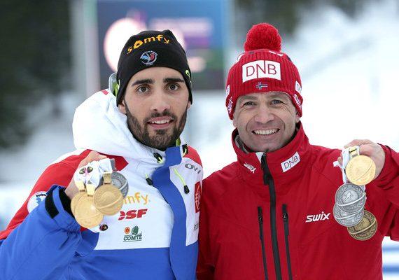 Anketa: Kto je kráľ biatlonu? Bjoerndalen vs Fourcade