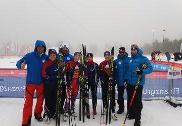 MSJ Oberwiesenthal: Mladé bežkyne na lyžiach sa dostali v štafete do top 10