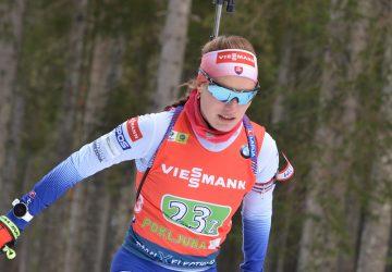 SP Kontiolahti: Ivona Fialková bola v záverečných pretekoch pre slovenské farby v top 20