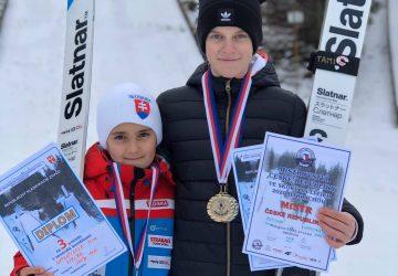 Víkend na mostíkoch Harrachove priniesol mladým nádejám ďalšie medailové preteky