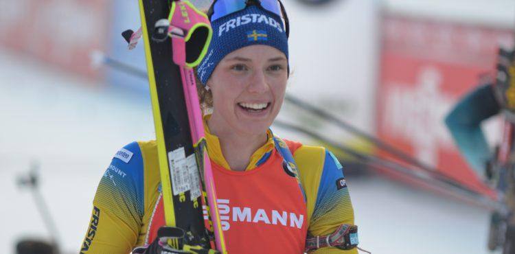 Hanna Öbergová a Sebastian Samuelsson opanovali šprinty v Idre