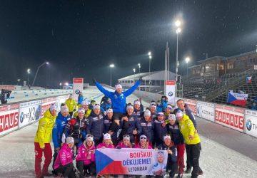 Biatlonový veterán Michal Šlesingr sa v Novom Meste na Morave rozlúčil s kariérou