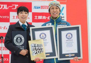 Noriaki Kasai sa po druhýkrát zapísal do Guinnessovej knihy rekordov