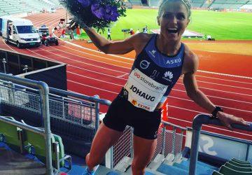 Bežkyňa na lyžiach Therese Johaugová zabehla najlepší čas na 10 000 m v roku 2020