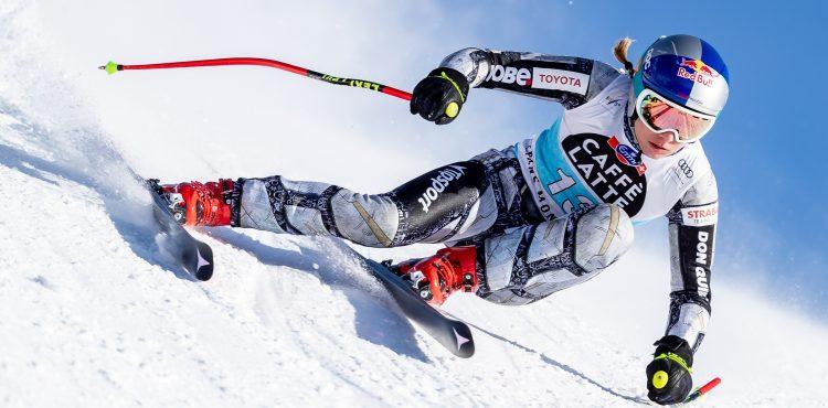Ester Ledecká zajela v obřím slalomu skvělý výsledek