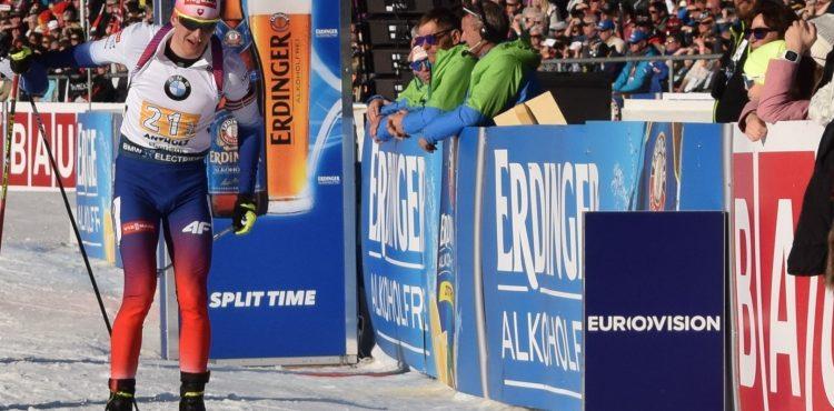 Štartová listina – Stíhacie preteky 12.5 km – Muži – MS Pokljuka: Na štart sa postaví Michal Šima