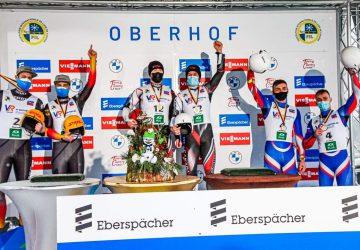 SP Oberhof – sane: Tomáš Vaverčák a Matej Zmij skončili v Pohári národov tretí