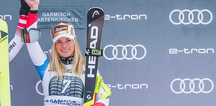 Lara Gutová-Behramiová zvíťazila v super-G SP v Crans Montane