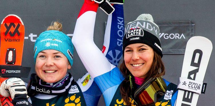 MS Cortina d´Ampezzo: Kvalifikáciu paralalného obrovského slalomu vyhrala Wendy Holdenerová, Petra Vlhová vypadla