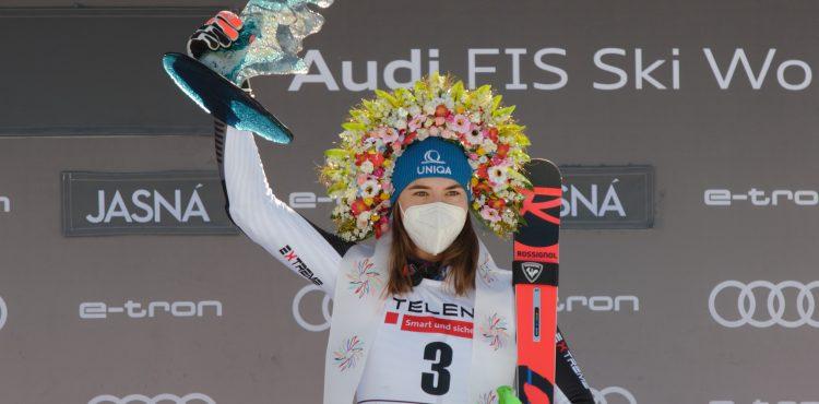Fantastická Petra Vlhová ovládla obrovský slalom SP v Jasnej