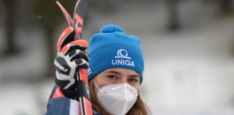 Finále SP Lenzerheide: Petra Vlhová je po 1. kole obrovského slalomu v top 10